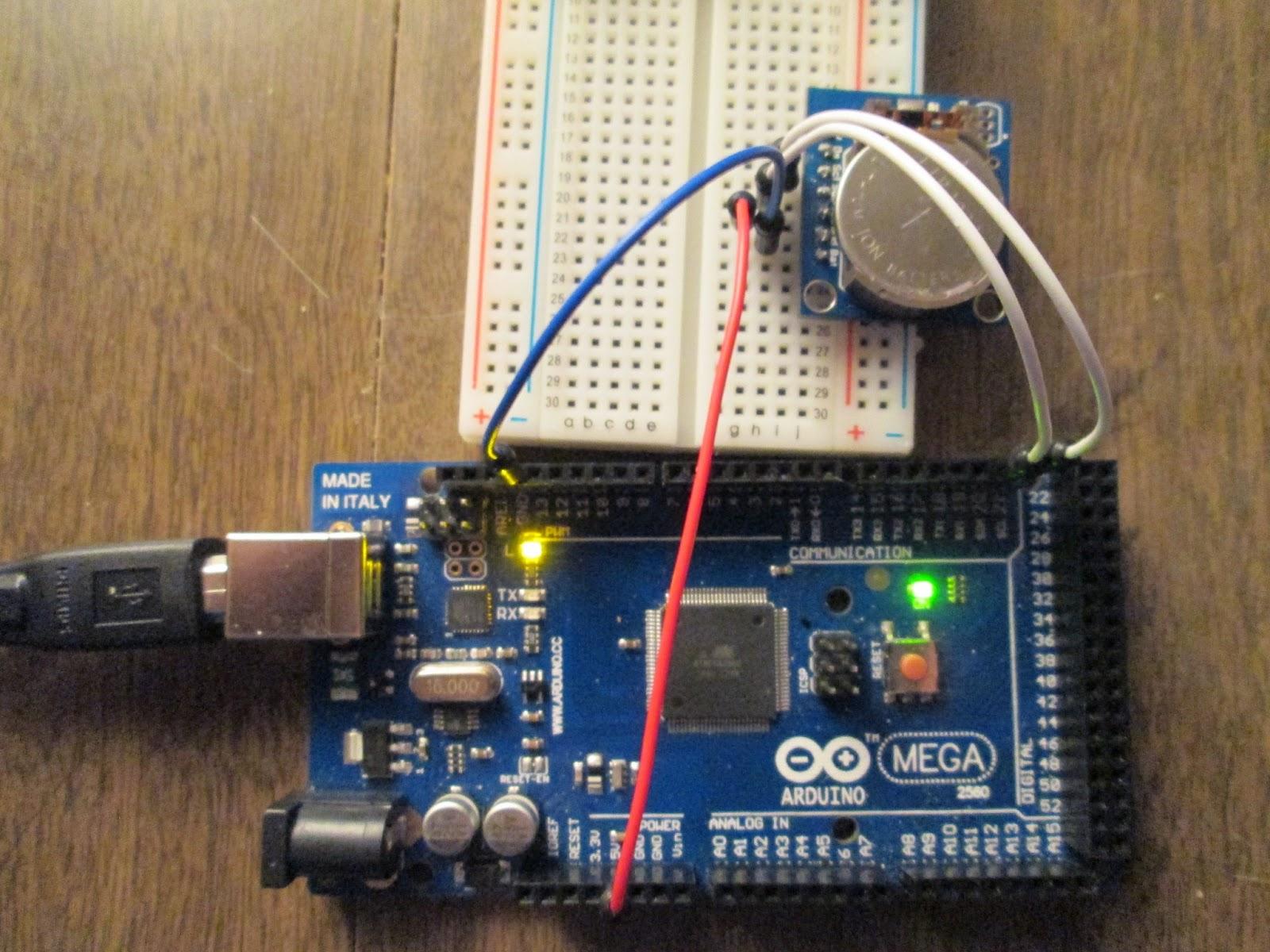 Real Time Clock RTC DS1302 Board - RobotShop